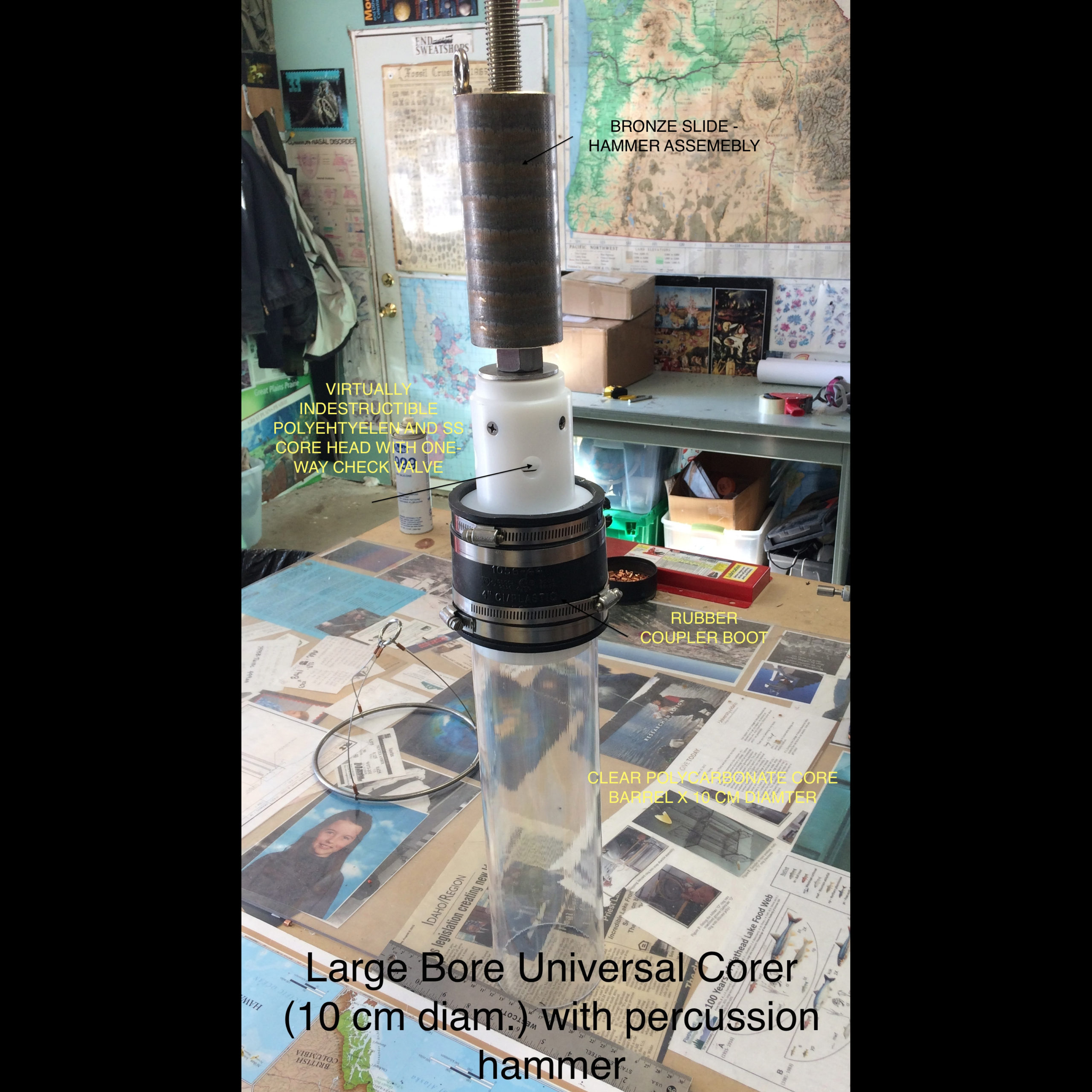 Large Bore Universal Corer